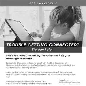 Connectivity Champions Family Flyer PDF BW